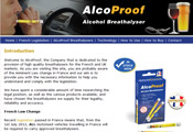 AlcoProof Breathalysers