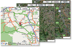 Insert a Google Map on your website